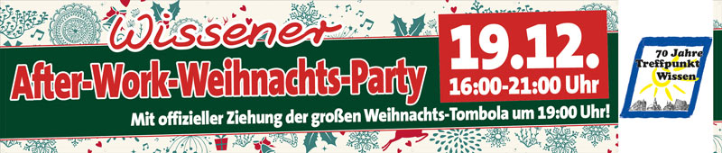 Wissener After-Work- Weihnachts-Party
